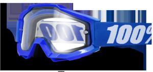 GOGLE 100% ACCURI ENDURO REFLEX BLUE