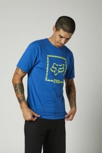 FOX T-SHIRT CELL BLOCK PREMIUM ROYAL BLUE