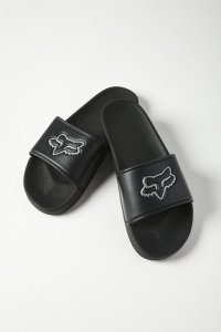 FOX KLAPKI UNISEX TRACK SLIDES BLACK