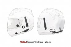 SENA INTERKOM 10U BT 4.1  1600M do ARAI integralnych