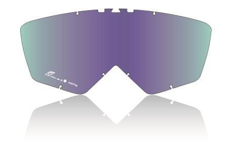 Ariete szybka do gogli + piny lustrzanka - tęcza 2