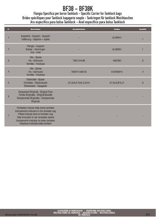 KAPPA BF38K MOCOWANIE TANKLOCK HONDA CB 1000R (18)