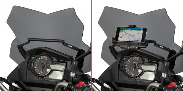GIVI FB3112 RAMKA/WSPORNIK GPS SMARTPHONE SUZUKI DL 650 V-Strom
