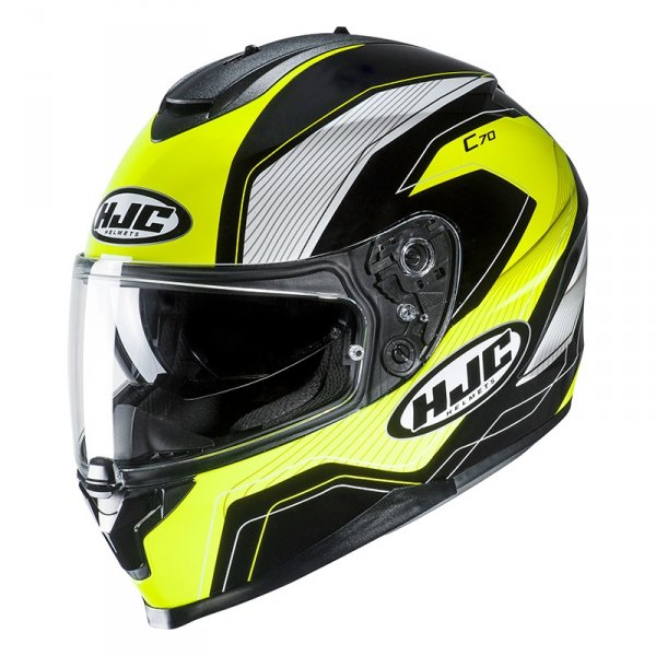 HJC C70 KASK intergralny LIANTO BLACK/YELLOW