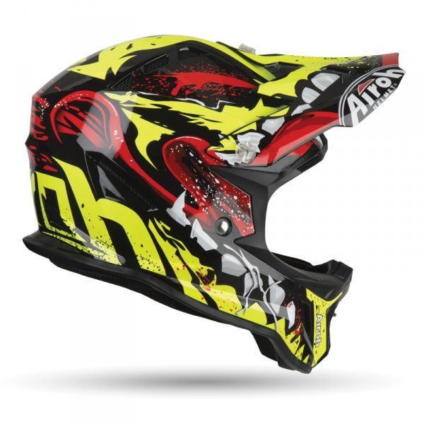AIROH KASK OFF-ROAD JUNIOR ARCHER GRIM GLOSS