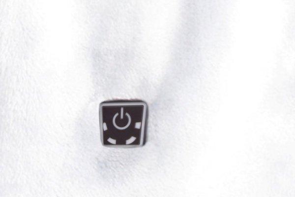 GLOVII GA1W Ogrzewany szalik biały