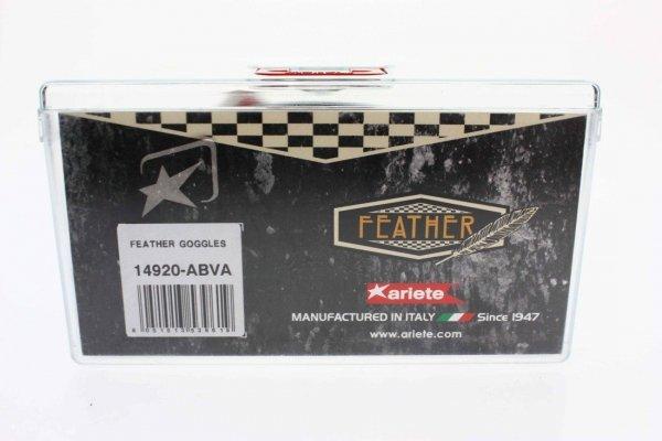 Ariete Gogle FEATHER Vintage Sclambler Cafe Race