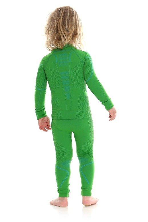 Brubeck Bluza chłopięca THERMO Kids zielony