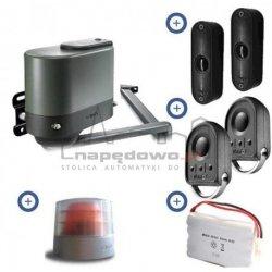 Zestaw Somfy Axovia MULTIPRO 3S RTS 24V Comfort pack (2 piloty 4-kanałowe Keygo, lampa z anteną, akumulator, fotokomórki)