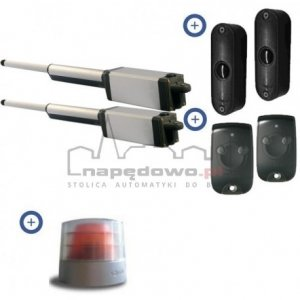 Zestaw Somfy Ixengo L RTS 230V Comfort Pack (2 piloty 2-kanałowe Keytis, lampa, fotokomórki)