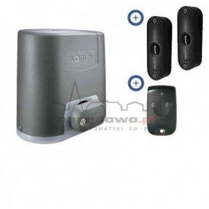 Zestaw Somfy Elixo 500 230V Standard Pack (1 pilot 2-kanałowe Keytis, fotokomórki)