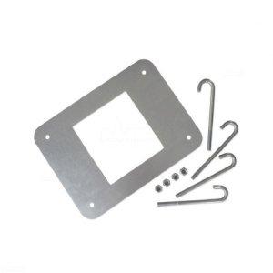 XBA16 płyta montażowa z kotwami