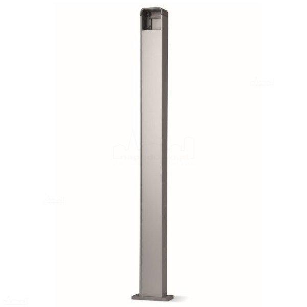 PPK kolumna aluminiowa do serii EKS, EDS, ETP, wys. 100 cm, srebrna