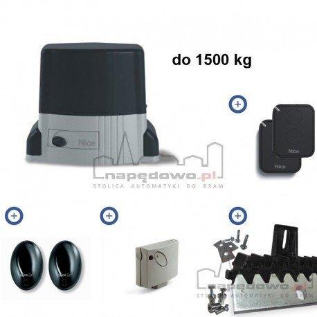THOR 1500 FLOR - zestaw automatyki do bram przesuwnych