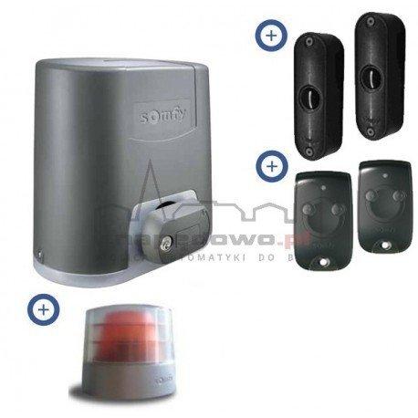 Zestaw Somfy Elixo 500 230V Comfort Pack (2 piloty 2-kanałowe Keytis, lampa, fotokomórki)