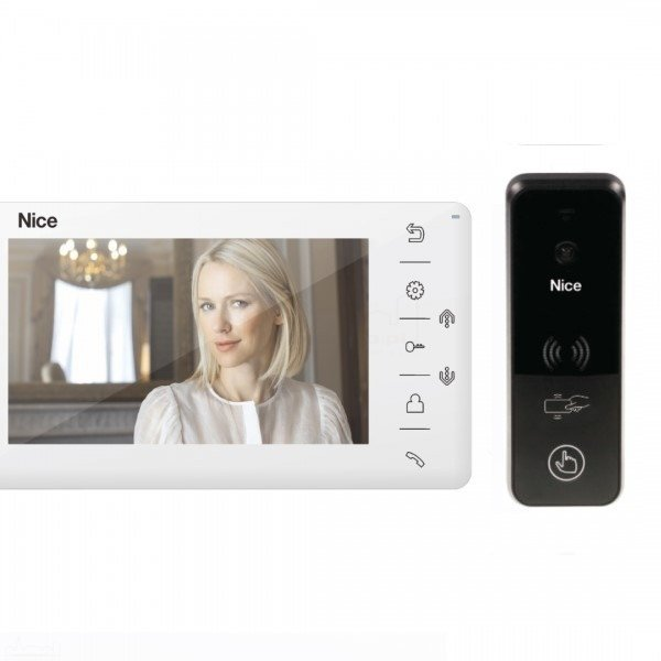 LOOK W PLUS B - Zestaw wideodomofonowy dla domu jednorodzinnego.