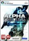 ALPHA PROTOCOL PC DVD