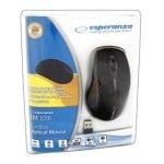 ESPERANZA Bezprzewodowa Mysz Optyczna EM101K USB|NANO Odbiornik 2,4 GHz