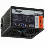 Zasilacz ATX 500W Akyga Ultimate AK-U4-500 80+ Bronze Fan12cm P8 6xSATA 2xPCI-E