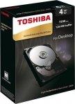 Dysk Toshiba X300 HDWE140EZSTA 3,5 4TB SATA 7200 128MB