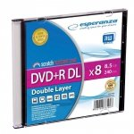 DVD+R Esperanza DL 8X 8,5GB (Slim 1)