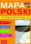 MAPA POLSKI 2007 CARTALL PC CD
