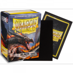 Koszulki Dragon Shield Matte - Non-glare - Black Amina (100 Sleeves)