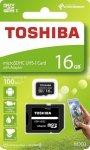 Karta pamięci MicroSDXC TOSHIBA M203 (SDU16GSDHCU1M203EATR) 16GB UHS-I Class 10 + adapter