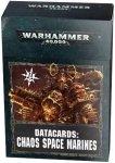 Warhammer 40000: Datacards: Chaos Space Marines