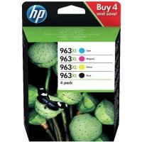 Zestaw tuszów HP 963XL CMYK (3YP35AE)