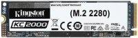 Dysk SSD Kingston KC2000 1TB M.2 2280 NVMe (3200/2200 MB/s ) TLC, 3D NAND