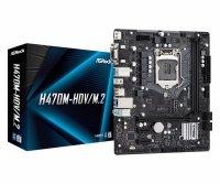 Płyta ASRock H470M-HDV/H470/DDR4/<br />SATA3/M.2/USB3.1/PCI<br />e3.0/M.2/s.1200/mATX