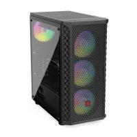 Komputer ADAX DRACO EXTREME WXHR2600 R5 2600/B450/16G/SSD512<br />GB+1TB/GTX1660-6GB/W<br />10Hx64
