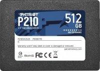 """Dysk SSD 512GB 2.5"""" Patriot P210 SATA3 (520/430 MB/s) 7mm"""