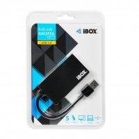 HUB I-BOX USB 3.0 CZARNY 4-PORTY SLIM