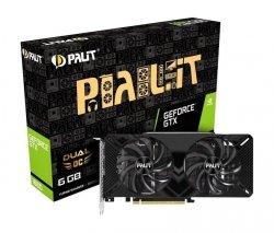 Karta VGA Palit GTX 1660 Dual OC 6GB GDDR5 192bit DVI+HDMI+DP PCIe3.0