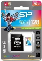 Karta pamięci MicroSDXC Silicon Power Colorful Elite UHS-1 128GB CL10 + adapter