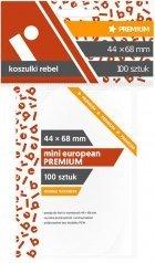 Koszulki na karty Rebel (44x68 mm) Mini European Premium, 100 sztuk