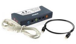 Zewnętrzna 8-kanałowa karta dźwiękowa 7.1 USB 2.0 z wyjś. optycznym SPDIF
