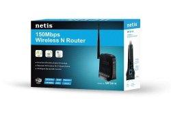 Netis Router DSL WIFI G/N150 + LAN x2, antena 5 dBi