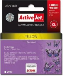 BROTHER 900 YELLOW ACTIVEJET