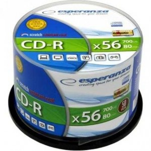 Dysk CD-R Esperanza 700MB, x56/1szt