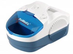 Inhalator Promedix PR-800 zestaw: nebulizator, maski, filterki
