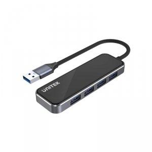Hub Szklany USB Unitek H1109A 4x USB A 3.1 Gen 1