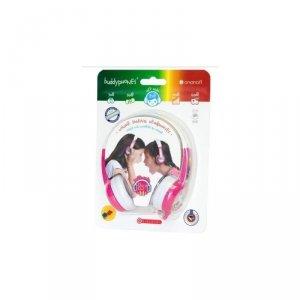 Słuchawki BuddyPhones Discover Pink dla dzieci 85dB