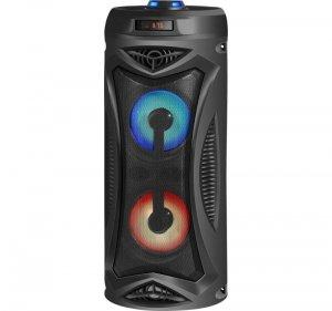 Głośnik Defender G70 Bluetooth 12W MP3/FM/SD/USB/AUX/LED KARAOKE czarny