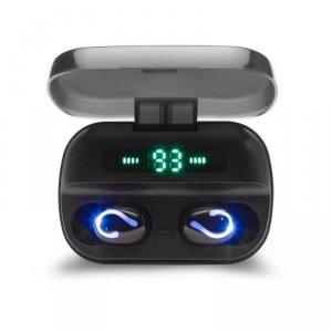 Słuchawki z mikrofonem Savio TWS-06 Powerbank bezprzewodowe Bluetooth + EDR