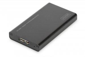 Obudowa Digitus USB 3.0 na dysk mSATA SSD M50 SATA III, 50x30x4mm, aluminiowa