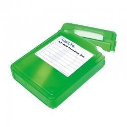 Pudełko ochronne na HDD LogiLink UA0133 3,5 zielone