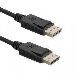 Kabel DisplayPort v1.2 Qoltec męski DisplayPort v1.2 męski 4Kx2K 1m